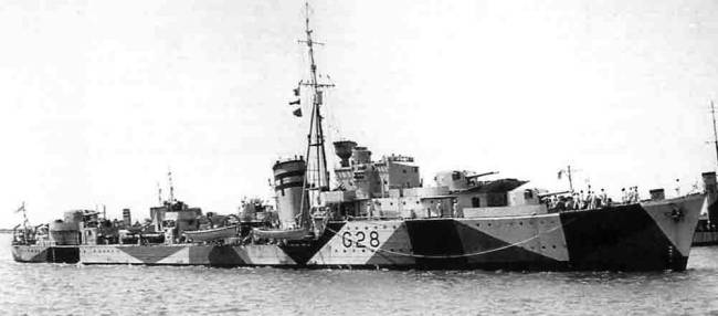 HMS Kandahar, destructor macedonio