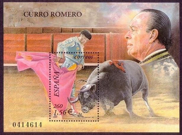 Curro, inmortal en los sellos