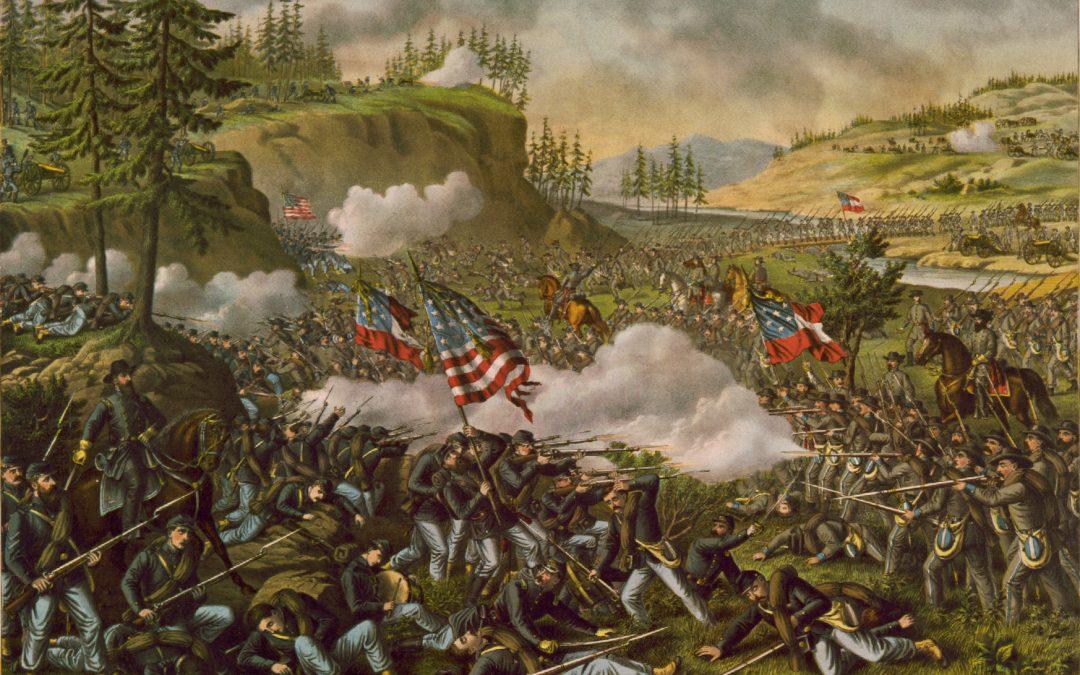 La guerra en el Oeste, mil palabras