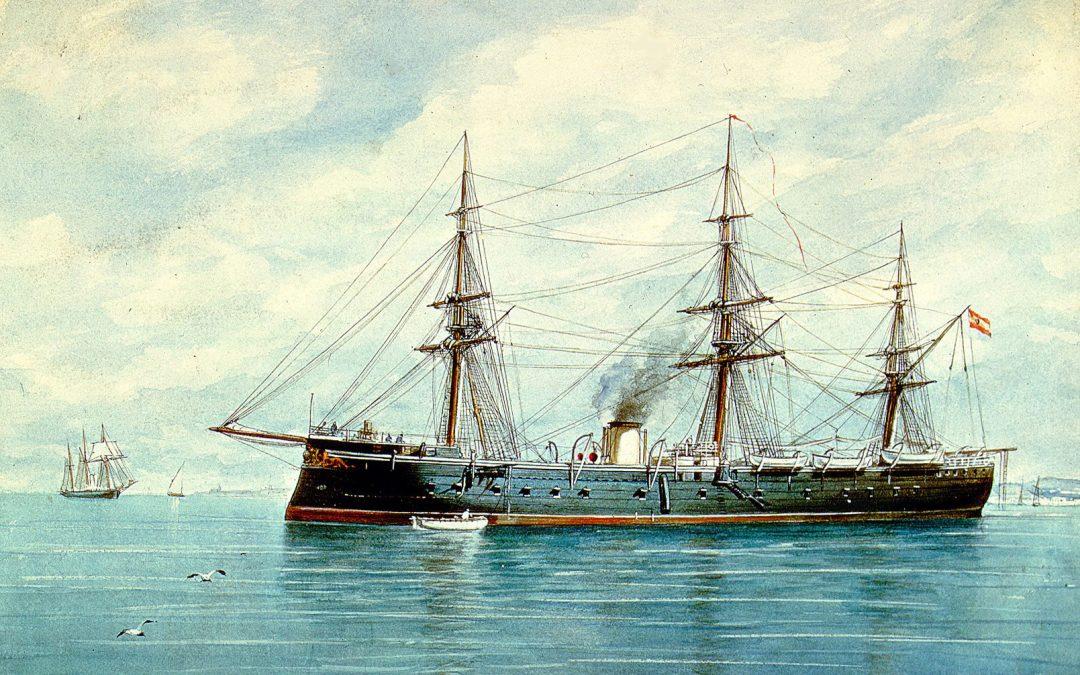 Dos buques de guerra: Numancia vs Constitution